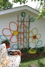 cheap garden wall art ideas