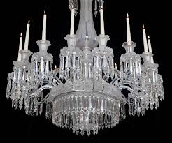 fine mid victorian frosted sixteen light cut glass chandelier in excellent condition for