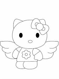 Kleurplaten Hello Kitty Pasen