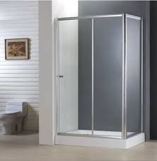 bathroom best economy 4 5mm sliding door shower enclosure with side panel