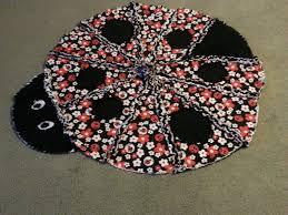 Custom Ladybug Rag Quilt For Baby by Ashley's Longarm Quilting ... & Custom Made Ladybug Rag Quilt For Baby Adamdwight.com