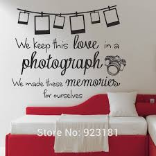 Elegant Ed Sheeran Photograph Lyrics Quote Wall Art Sticker Wall Decals Home DIY  Decoration Wall Mural Removable Bedroom Wall Stickers