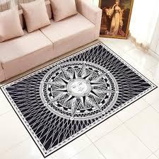 bathroom rugs white totem square mat printed soft carpet black and white bath rugs non slip bathroom rugs white bath rug white x red black