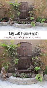 Yard Fountains 25 Best Wall Fountains Ideas On Pinterest Contemporary Outdoor