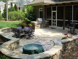 backyard stone patio design ideas excellent with images of backyard stone ideas fresh at gallery