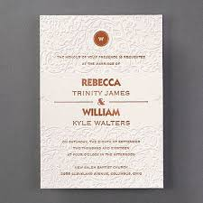 11 best wedding invitations images on pinterest wedding Michael Kors Wedding Invitations thick paper, lavish embossing and foil printing on this wedding invitation let everyone know that you'll pay attention to every detail Walmart Wedding Invitations