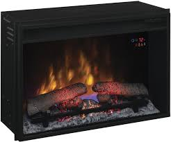 bello clic flame twin star 26 electric fireplace insert with