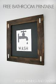 printable vintage bathroom art.  Bathroom Free Bathroom Printable Wall Art  VintageWashPrintable Viadesigndininganddiapers And Printable Vintage Bathroom Art O