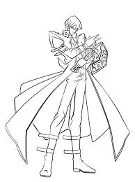 Sonic coloring page from sonic category. Seto Kaiba From Yu Gi Oh Coloring Page Free Printable Coloring Pages For Kids