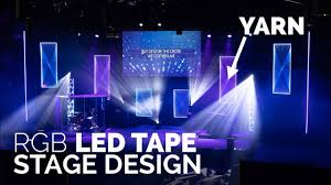 Cool Church Stage Designs Led Tape Church Stage Design Yarn Led Panels