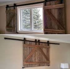 reclaimed wood barn door shutters for by chiefspeaktradingco