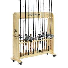 fishing pole rack s wooden fishing rod rack diy fishing pole rack for jeep tj