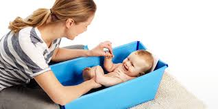 stokke flexi bath newborn support for foldable baby bath tub