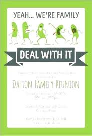 Family Reunion Flyer Templates Free Reunion Flyer Template Free Stock Vector Family Reunion Invitation