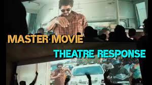 Master movie theatre public response ...