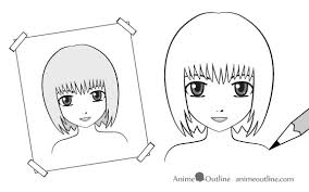 how to draw anime characters step by step for beginners. Use Reference Material When Drawing Anime Inside How To Draw Characters Step By For Beginners
