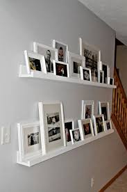 Rather than having a gazillion holes in the walls from frames -- LR wall