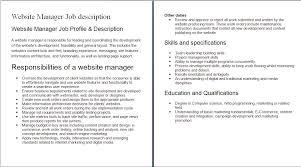 cover letter web developer job duties web developer job duties cover letter doc hostess job description in a hospital web developerweb developer job duties extra medium