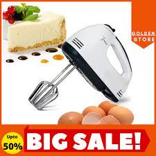 Máy Đánh Trứng Cầm Tay Cao Cấp Công Nghệ Mới 7 Cấp Độ - Máy Đánh Trứng Mini  Scarlett Đa Năng, Nhào Bột, Trộn Bột, Đánh Kem Tốt Hơn Máy Đánh Trứng