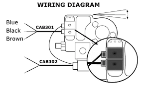 traxoil electronic oil level controls temprite connect cab301 cable to relay connection maximum 3a 240vac according to wiring diagram