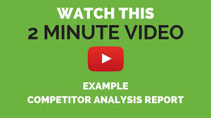 Competitor Analysis Example Competitor Analysis Example YouTube 7