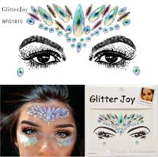 2019 g1810 rainbow color cosmetic face gem fusion makeup making you shine at party festivals from hima 3 55 dhgate