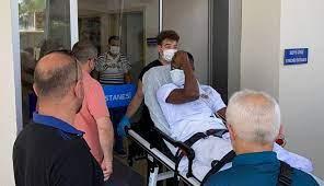Kalp spazmı geçiren Babacar'a anjiyo yapıldı