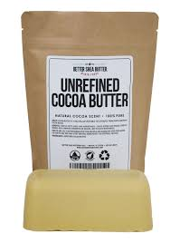 Unrefined Cocoa Butter by Better Shea Butter - Raw & 100% Pure - Natural  Cocoa