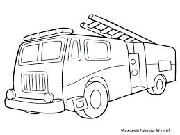 Free Truck Coloring Pages Fire Engine Colouring Pages Free Truck