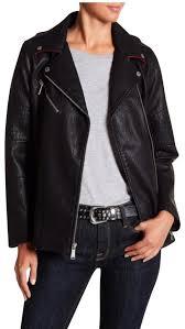 bcbgeneration motorcycle jacket image 0