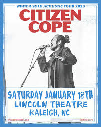 Citizen Cope Raleigh Nc 27601