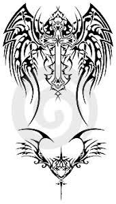 Ilustrace9544372 Tribal Křídla Autor Wojek