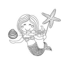 Mermaid Vettoriali Illustrazioni E Clipart