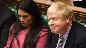Boris Johnson's defence of Priti Patel goes beyond the call of duty