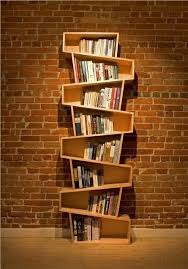 Best DIY Furniture & Shelf Ideas 2017 / 2018 Switchback bookcase - Readers  Gallery - Fine Woodworking -Read More -