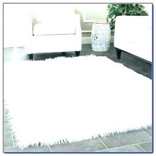 blue faux fur rug area x new premium throw black all real rugs image 0 fur throw