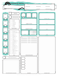 5th edition d d character sheet handbook 5th edition dungeons and dragons d and d wizards of the coast