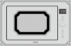 <b>Встраиваемые микроволновые печи</b> Körting: ассортиментный ряд