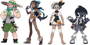 This monumental event in pokémon go. Here S What The Numbers On Pokemon Sword Shield Gym Leaders Outfits Mean Nintendosoup
