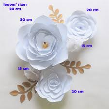 Homemade Paper Flower Decorations Giant Paper Flowers Backdrop Artificial Handmade Crepe Paper Flower