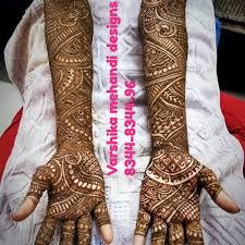 Indian Traditional Mehndi Design Hands Grand South Indian Traditional Mehandi Design For A