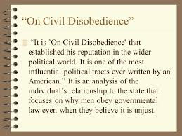 "thoreau and ""essay on civil disobedience"" prepared by eileen t  on civil disobedience 4 it is on civil disobedience that established his reputation in the"