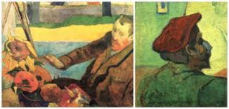 portraits of both artists van gogh and paul gauguin