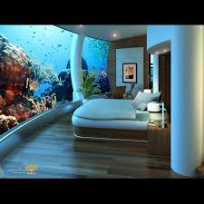 underwater hotel room at night. Underwater Hotel Room At Night R