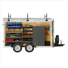 Cabinets For Cargo Trailers Cargo Trailer Equipment Inlad Truck Van Company