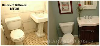 cheap bathroom makeover. hartwood roses connie\u0027s basement bath makeover cheap bathroom