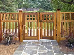 Ideas For Garden Fences Style