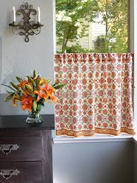 Floral Kitchen Curtains