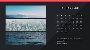Black Photo Collage Calendar Templates By Canva