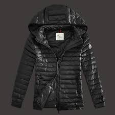 2014 Moncler Lionel Mens Down Jackets Zip Hooded Black Popular On Sale  Authentic
